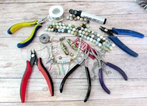 Supplies Necklace Redo